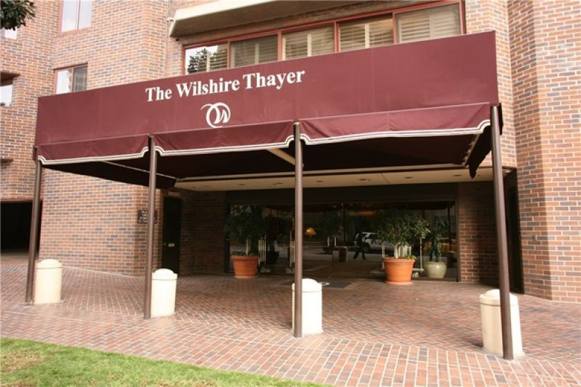Entrance to the building, The Wilshire Thayer.
