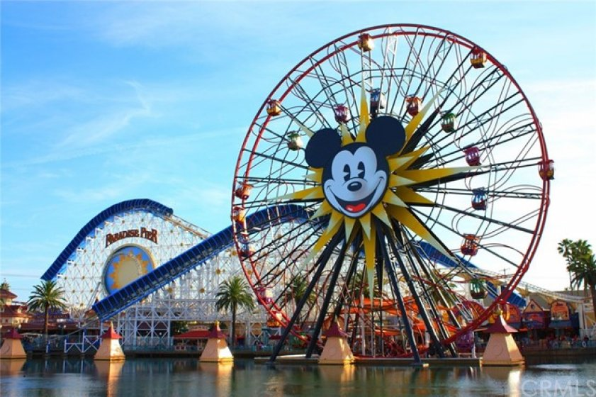 And California Adventure is right next to Disneyland, just minutes away from your new home.