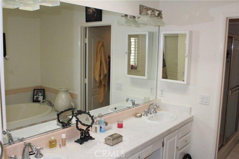 Master Bath Dual Sink Vanity