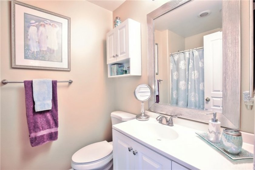 Charming Remodeled Hall Bath