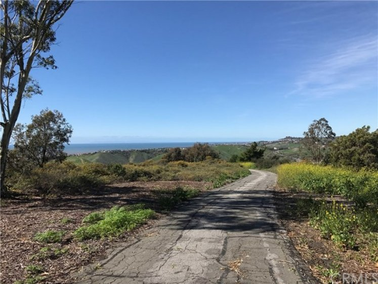 Pacific Ocean, Dana Point Harbor and Catalina Island views from Rancho San Clemente's Ridgeline Trail.