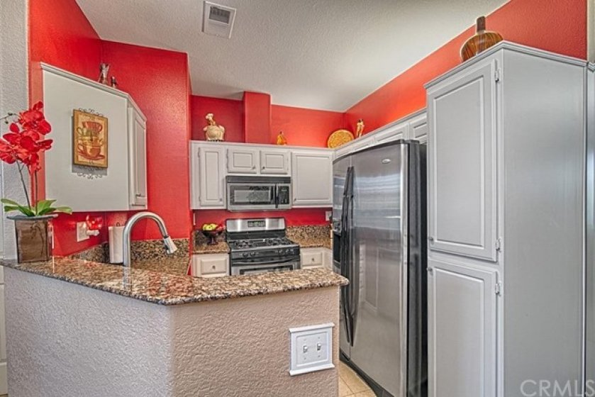 Stainless Steel Appliances include Stove, Microwave, Dushwasher and Refrigerator. Refrigerator is included in sales price.