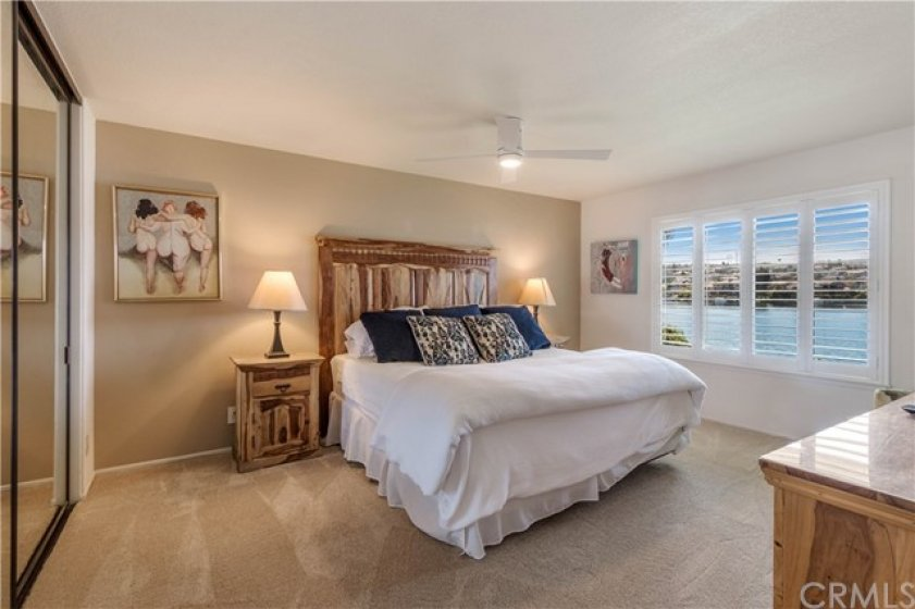 Second Bedroom with Lakeside View