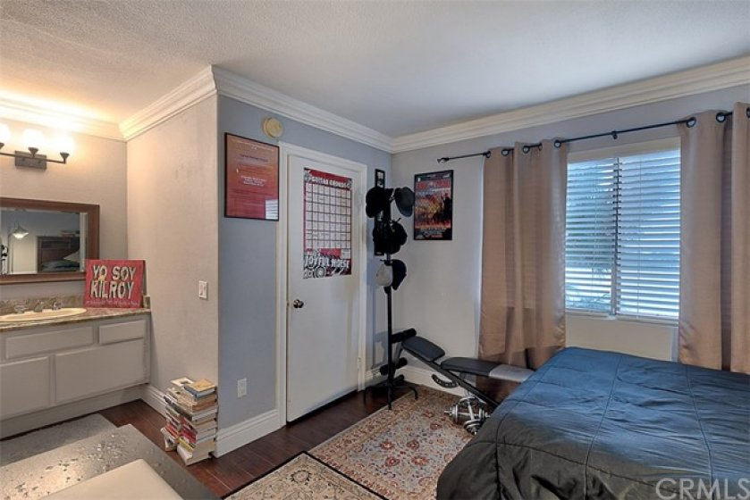 Second Bedroom with vanity area and walking closet