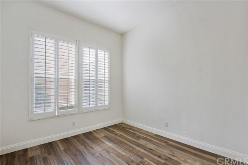 3rd Bedroom - also with plantation shutters & new floors, baseboards, and paint