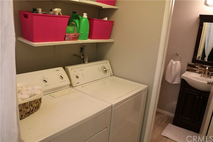 Laundry Area/Bathroom #1