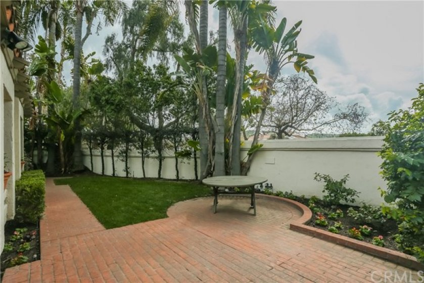 Did I mention the large private newly landscaped patio?