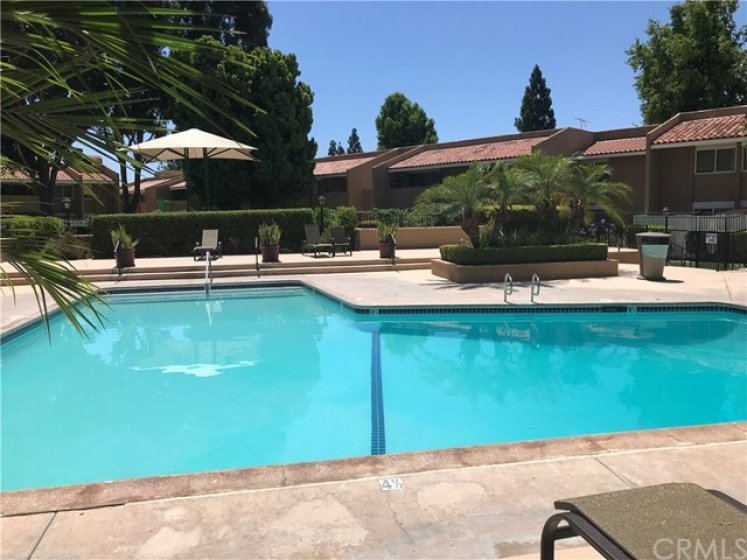 Community Swimming Pool just steps away from your condo!