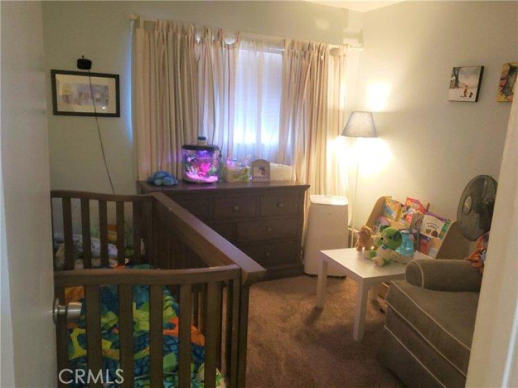 BEDROOM #2 - VIEW FROM DOORWAY