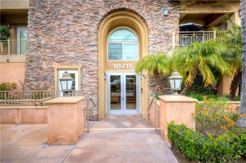 Front of Entrance Door