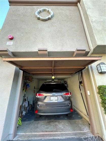 One car garage under your unit