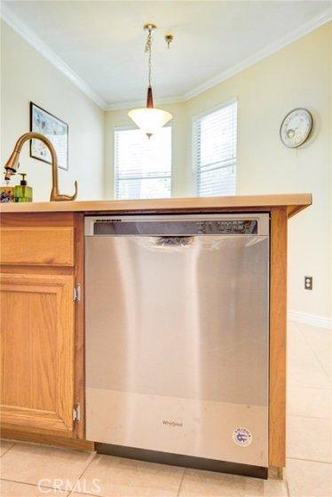 brand new dishwasher