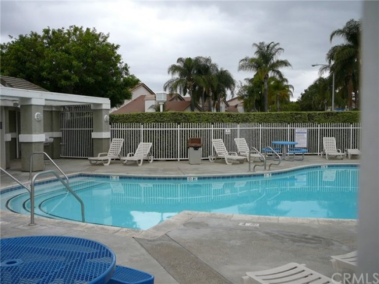 Association swimming pool and restrooms.