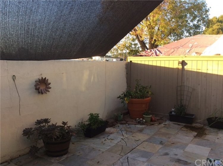 Another view of patio