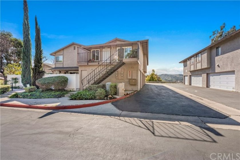 Upstairs, single story on a quiet single loaded cul de sac with amazing views and a two car garage!