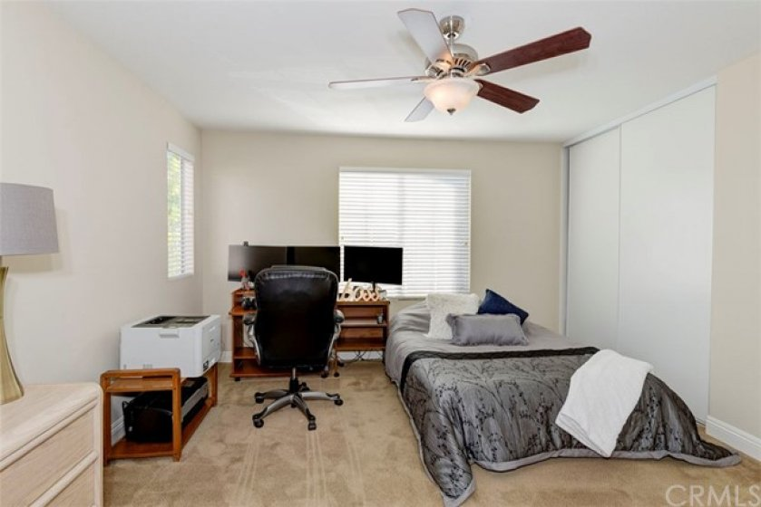 Spacious master bedroom...featuring 3 closets!