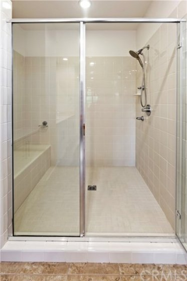 Easy access shower!