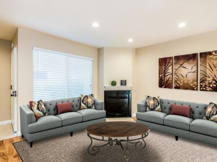 Designed with virtual staging for another arrangement.