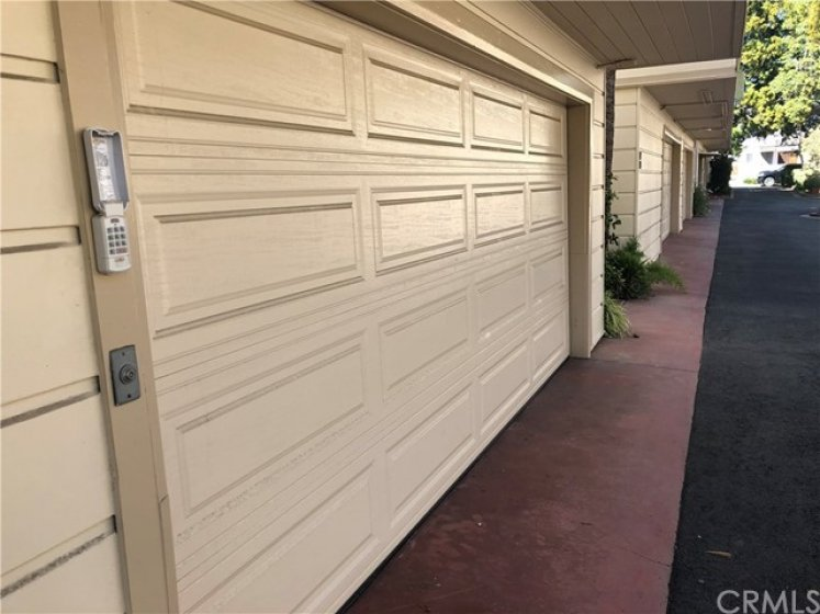 Garage in the rear of property.