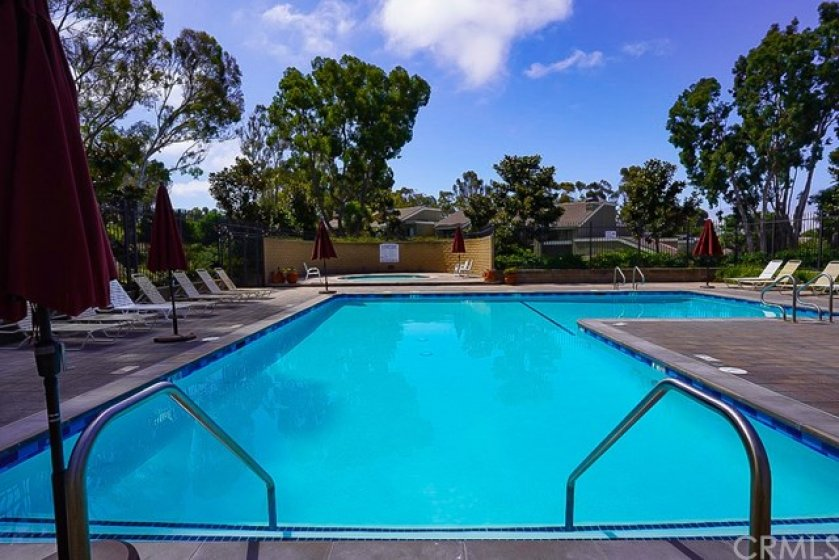 Large association pool, heated, and ready for those perfect days w/ friends or family!