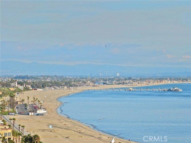 View the spacious coastline.