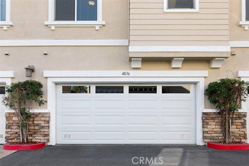 2 car, direct access garage.
