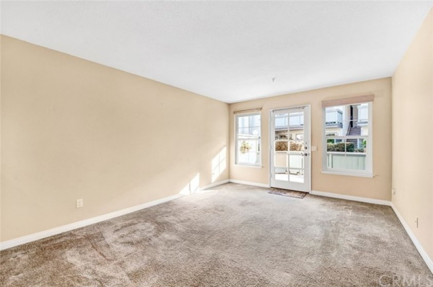Large Living Room, Front Door and Living Room Windows