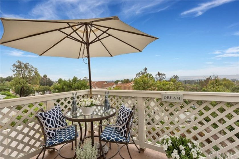 The back deck is spacious and has views for miles!