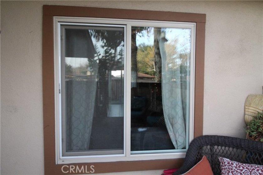Double glazed windows throughout