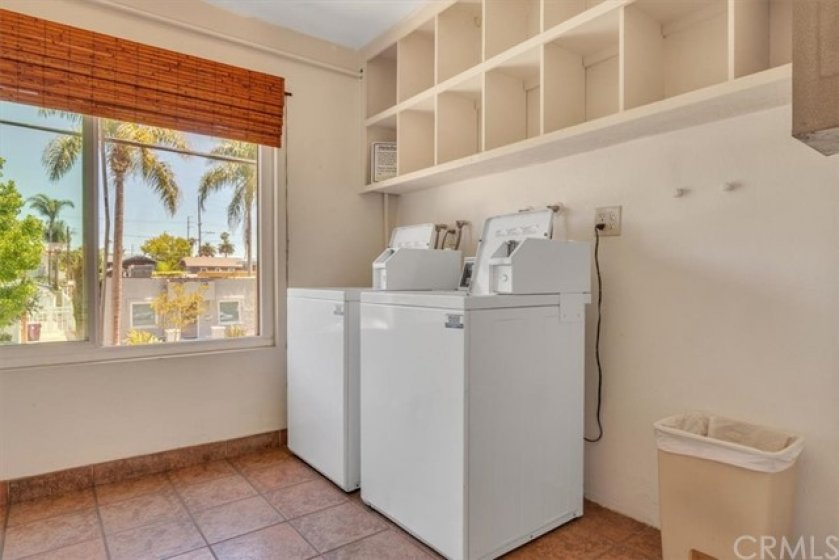 Convenient Community laundry available in your building.