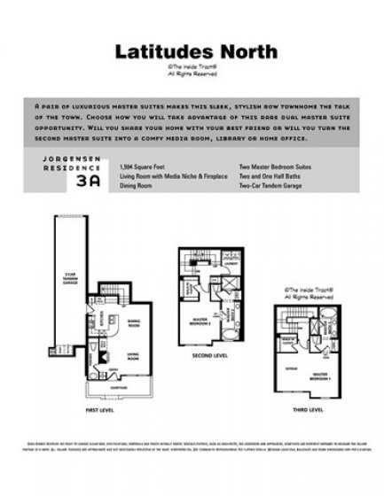 Largest 2 BR floorplan in Vantis