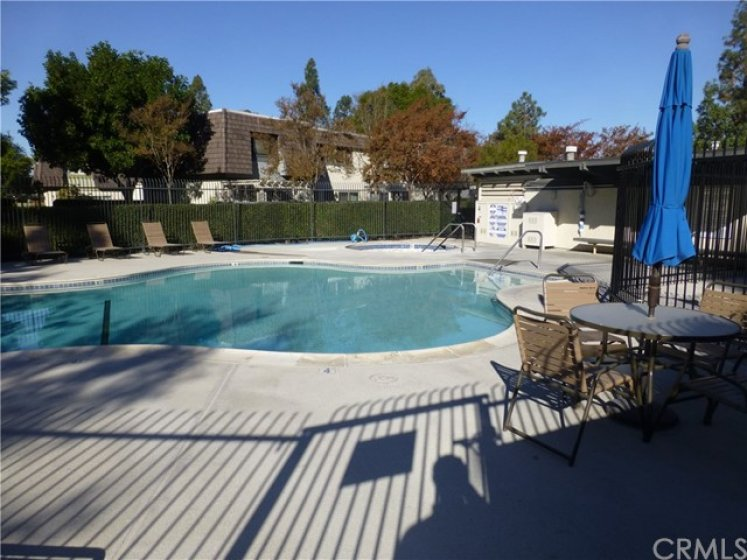 Close to community pool and spa