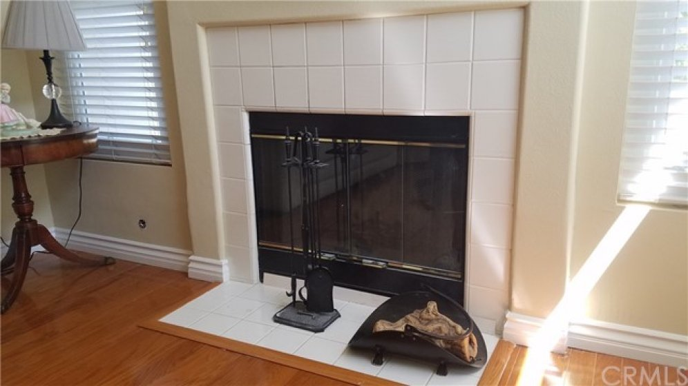 Beautiful fireplace will be the focal point of your living area.