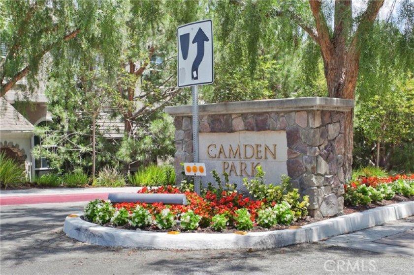 Camden Park Community Entrance