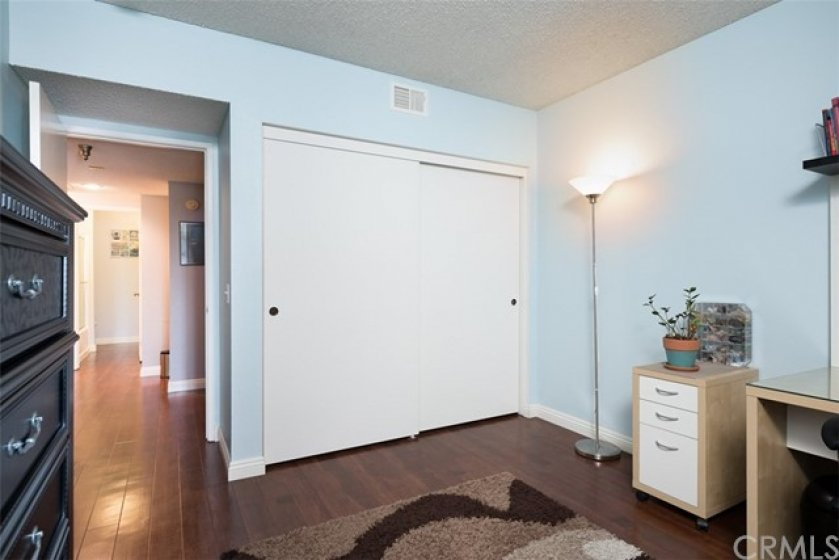 large closet in 2nd bedroom.