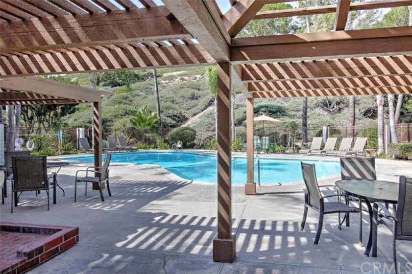 Plenty of room to play in the association pool just steps away from your front door.