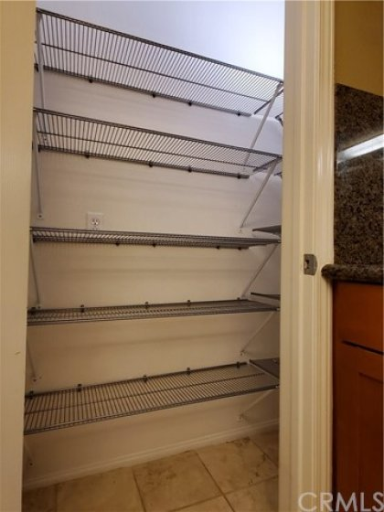 step in floor to ceiling pantry