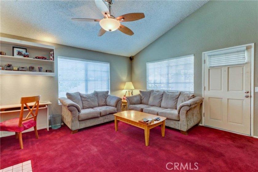 Living room with plenty of light!