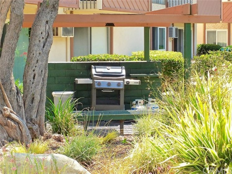 Several bbq areas throughout the property