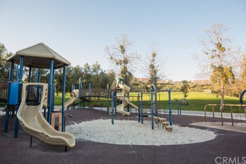 The younger residents will enjoy this playground.