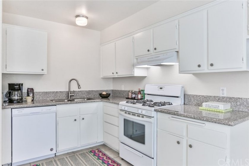 Brand new dishwasher and upgraded countertops and sink.