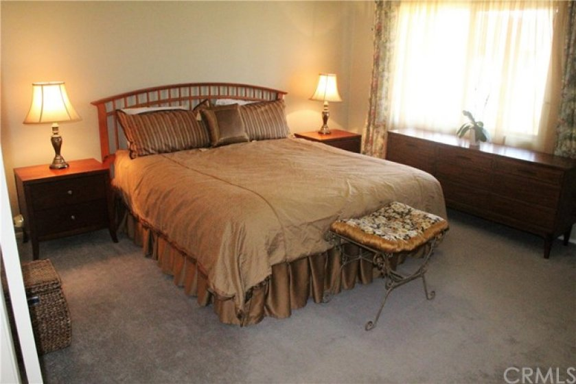 SPACIOUS MASTER BEDROOM WITH LARGE CLOSETS