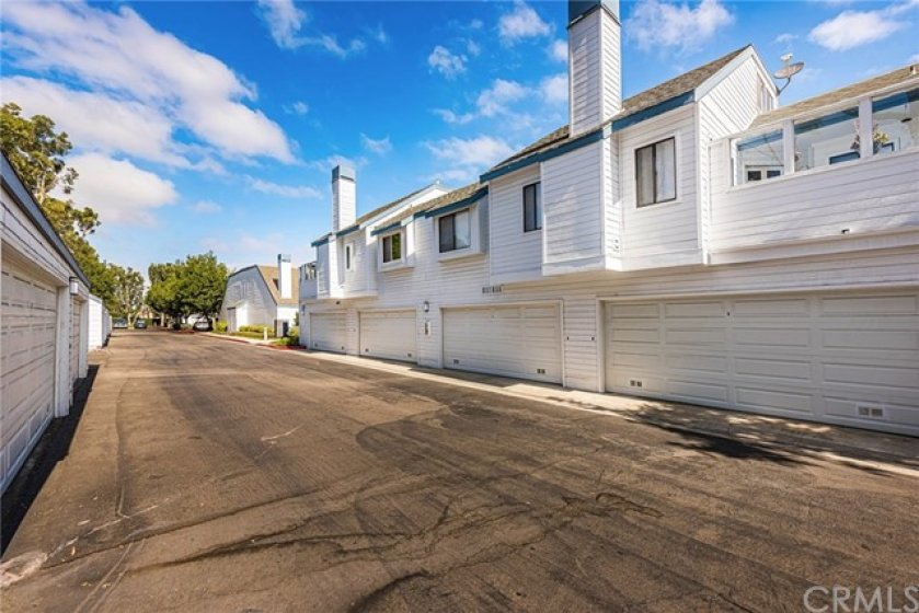 Your single car, shared garage space. Plus ample additional parking.
