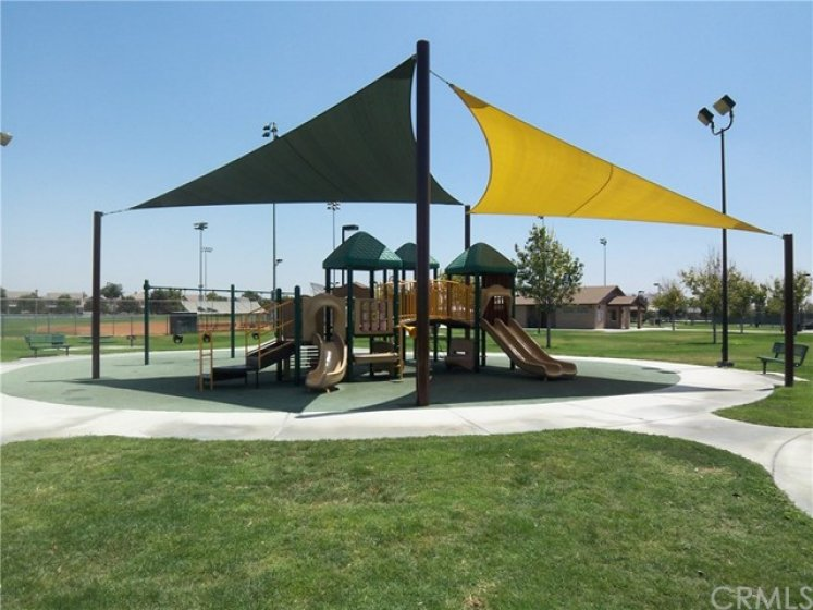 One of the many parks in Ladera Ranch.