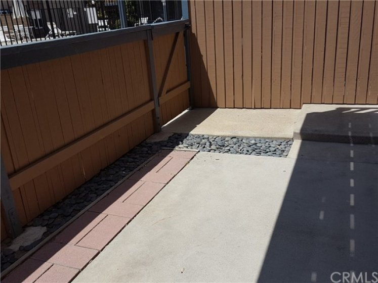 Large Front Patio