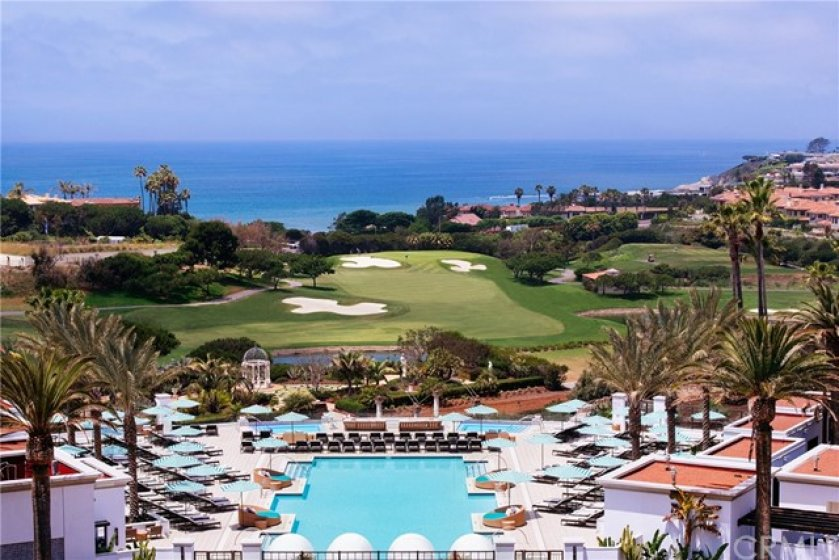The Monarch Beach Resort is down the street from the Dana Vista Community.