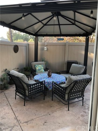Large Gazebo Area...Perfect for Relaxing or Entertaining Friends.