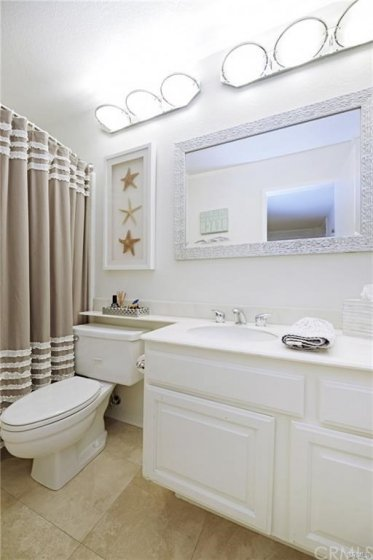 The perfect guest bathroom.