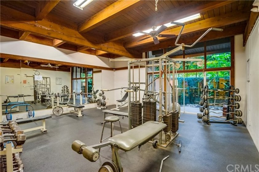 Why join a gym when you have one at your disposal?