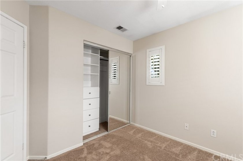 Custom closet for Bedroom #3